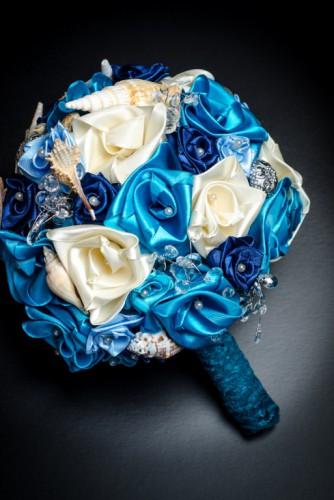 """Buchet de mireasa """"So blue"""""""