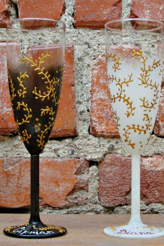 "Pahare nunta ""Golden Details"""