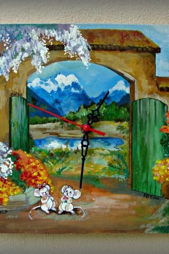 """Ceas de perete """"The garden"""""""