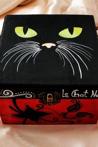 """Cutie bijuterii """"Le Chat"""""""