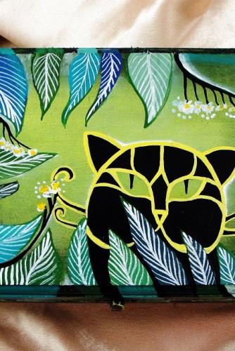 """Cutie pentru bijuterii """"The black cat"""""""