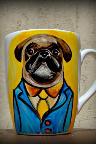 "Cana ""My Serious Pug"""