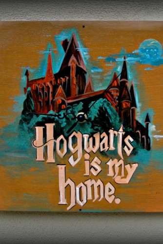 "Ceas de perete ""Harry Potter"""
