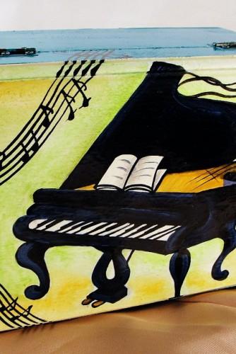 """Cutie pentru bijuterii """"Piano"""""""