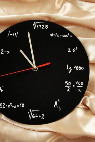 """Ceas de perete """"Math"""""""