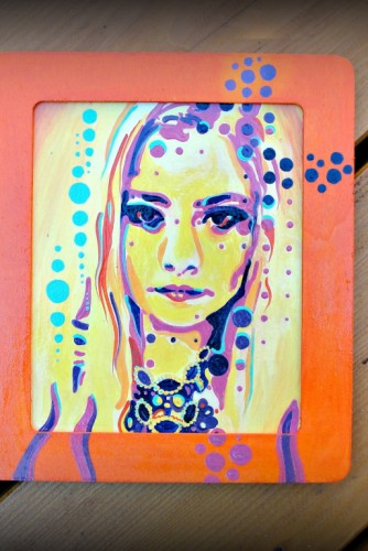 "Portret Pop-Art ""Girl"""