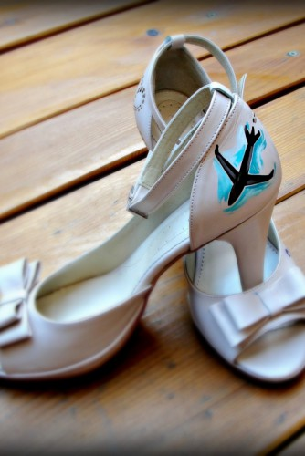 "Pantofi pictati ""Travel"""