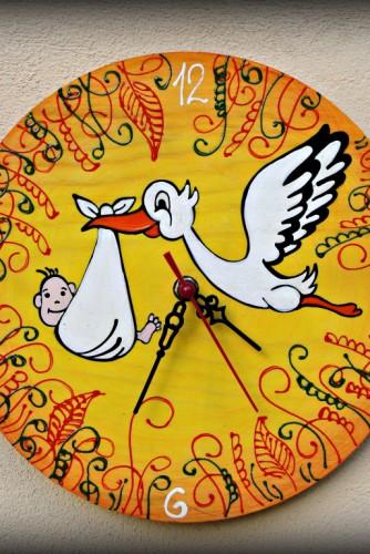 """Ceas de perete """"The Stork"""""""