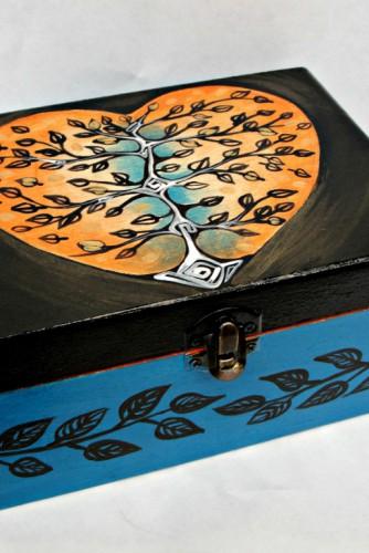 """Cutie pentru bijuterii """"Tree of life"""""""