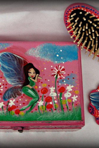 "Set cadou botez ""Sleepy Fairy"""
