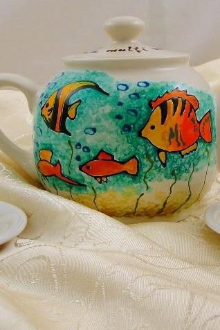 "Set ceai ""Little fish"""