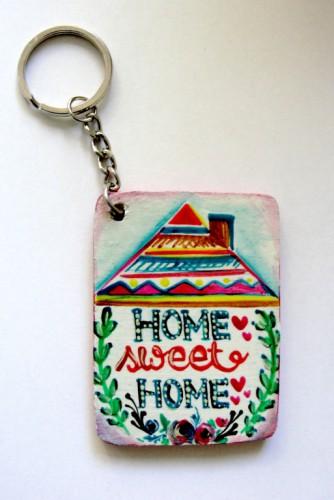 "Breloc ""Home Sweet Home"""