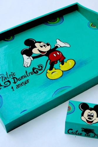 """Set pentru moț """"Micky Mouse"""""""