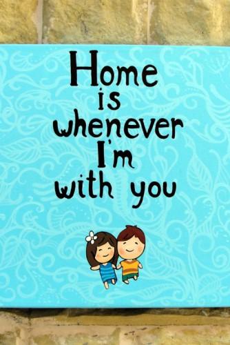 "Tablou ""Home"""