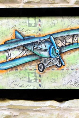 "Ilustratie ""Biplane"""