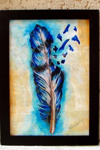 """Ilustratie """"Feather"""""""