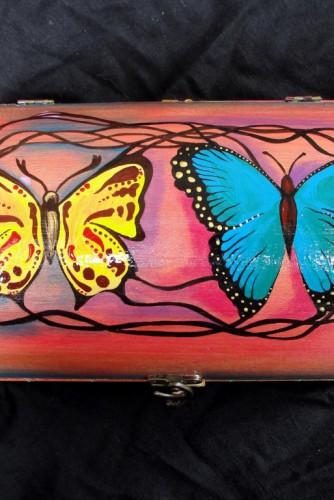 """Cutie de bijuterii """"Butterflies"""""""
