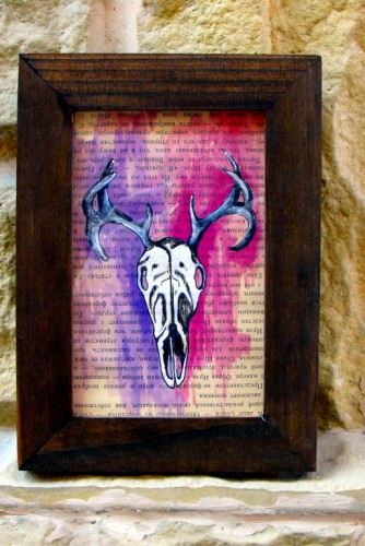 """Triptic ilustratii """"Skulls"""""""