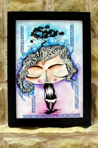 """Ilustratie """"Tree"""""""