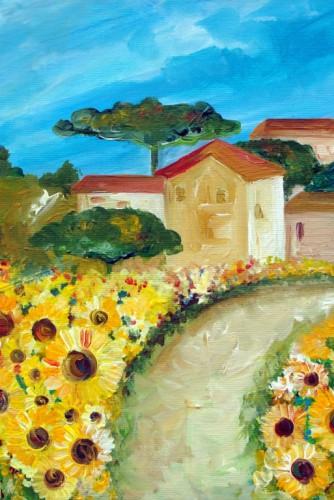 """Tablou """"Sun Flowers"""""""