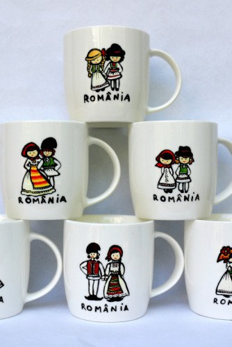 "Set cani cafea / ceai ""Traditional"""
