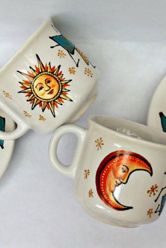 "Set cafea / ceai ""Sun&Moon"""