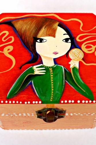 "Cutie de bijuterii ""Ariadna's Wire"""