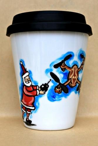 """Cana Coffee To Go """"Funny Santa"""""""