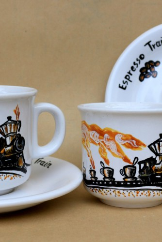 "Set cafea ""Espresso Train"""
