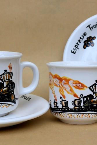 "Set cafea ""Espresso Train"""