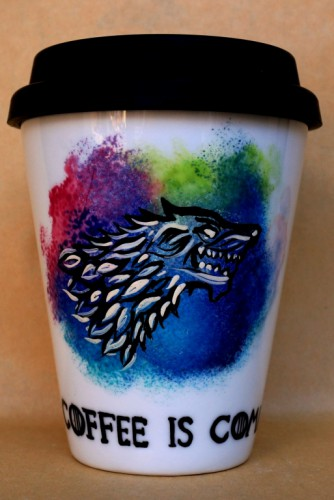 "Coffee To Go ""Game of Thrones-Coffee is Coming"""