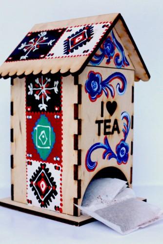 """Casuta pentru plicuri de ceai """"Etno Elements"""""""