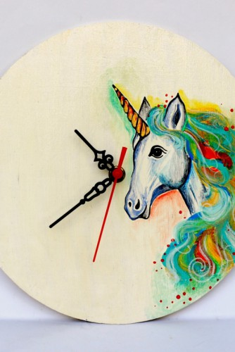 "Ceas perete ""Unicorn"""