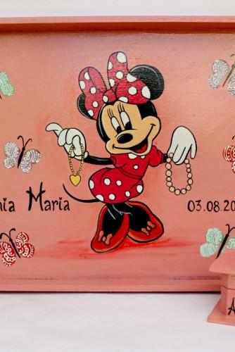 """Set pentru moț """"Hello Minnie!"""""""