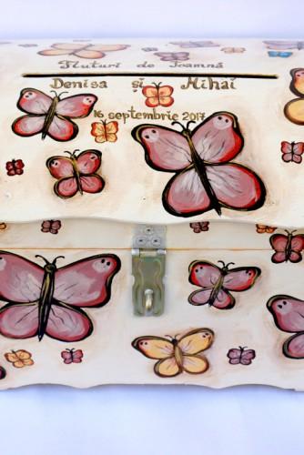 "Cufar bani nunta ""Autumn Butterflies"""