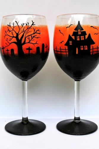 "Pahare vin ""Spooky"""