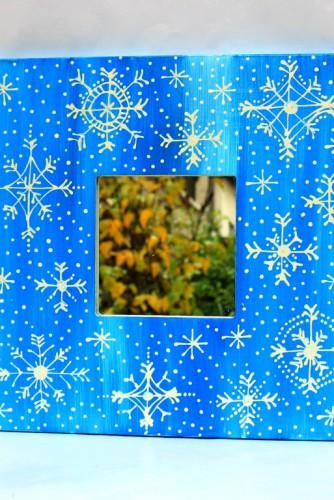 """Oglinda """"Snowflakes"""""""