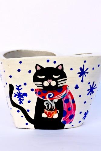 "Lumanare ""Warm Cat"""