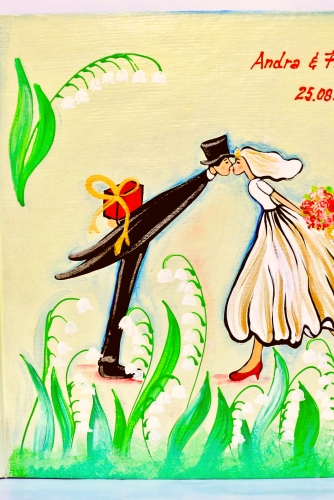 """Wedding Book """"Lily of the Valey"""""""