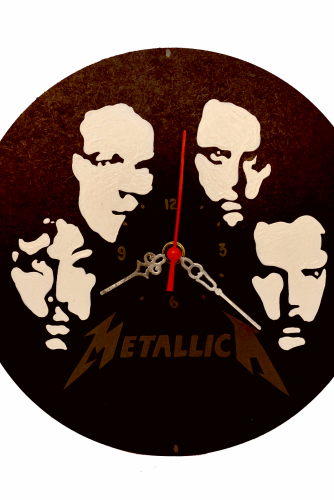 """Ceas perete : """"Metallica"""""""