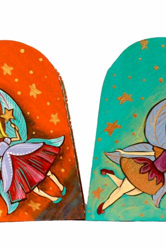 "Cutii bijuterii ""Cute Fairies"""
