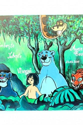 "Cufar botez/petrecere luat din mot ""Jungle Book"""