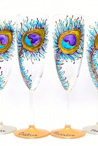 "Set Pahare nunta ""Peacock Colours"""