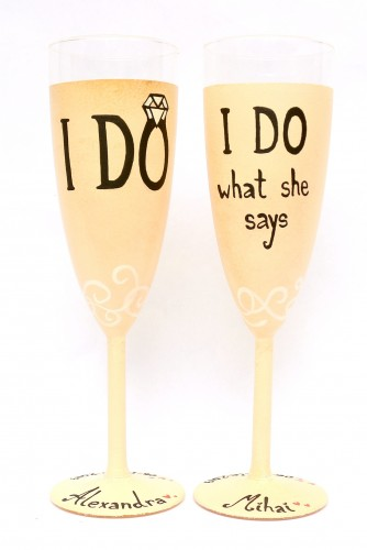 "Set pahare nunta ""I do...What she says"""