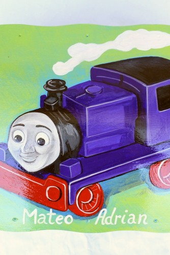 "Cufar botez / depozitare ""Thomas & Friends"""