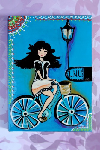 "Agenda ""Blue Bicycle"""