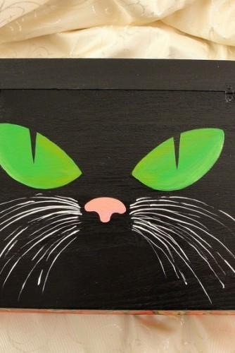 """Cutie de bani """"Black cat"""""""