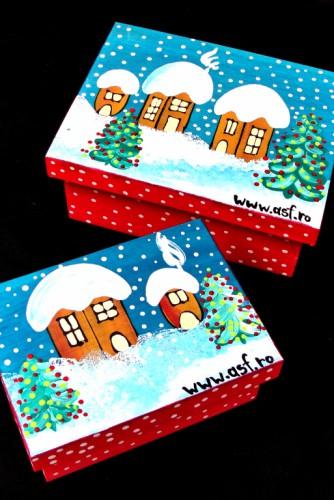 """Cutii pentru bijuterii """"Winter Feeling"""""""