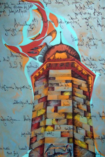 "Lucrare grafica ""Lighthouse"""