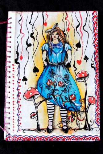 "Jurnal ""Alice in Wonderland"""